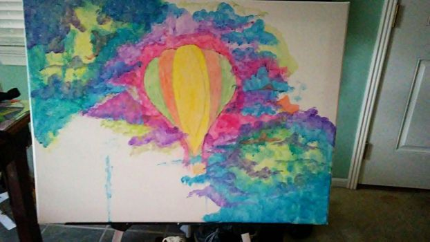 changes/hot air balloon water color by edsterjin