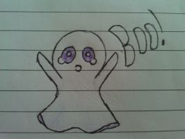 Boo! by demonlucy