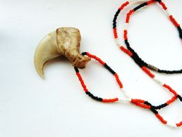 Old african lion claw FOR TRADE by ghostwolfen