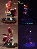 Zombie Simpsons BARTMAN by Undead Ed Glows in the  by Undead-Art