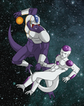 Cooler vs Frieza by Nickarooski