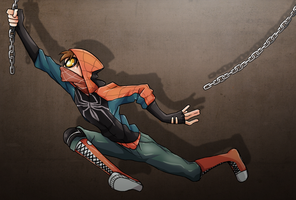 Spidey by h-Robun
