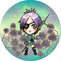 Chrome Dokuro Button by Otakuyume