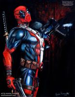 Shhh. My common sense is tingling - Deadpool by The-Art-of-Ravenwolf