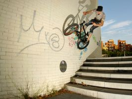 joe the pro - barca wallride by nobin