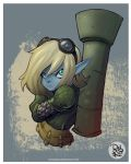 TRISTANA fanart LOL by juliodelrio