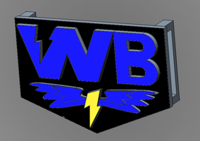 WB Belt Buckle Final with Semi-Final colors by tomtortoise
