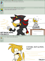 Ask Tails 15 by hikadoodles