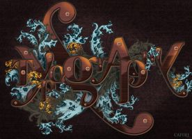 Ornate typo by whiteowl152
