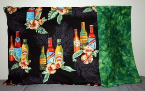 Hawaiian Beer Pillowcase by Groovygirlsuzy17