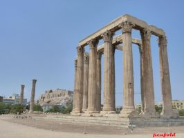 Temple of Zeus by penfold5