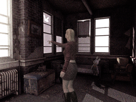 Silent Hill 2 Maria Pointing by Silent-Hill-2