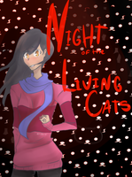 Night of the living cats! by AyaMichelle