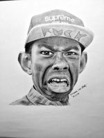 Tyler the Creator drawing by uniquebreal