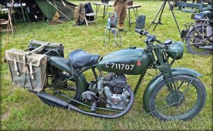 Vintage Motorcycle 3 by Estruda
