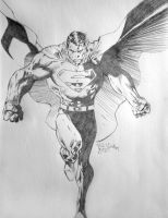 Superman fly by M41C0N