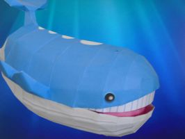 Wailord papercraft by TimBauer92
