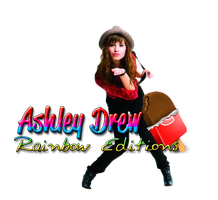 Ashley Drew Rainbow Editions firma para ella by eli95isla