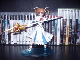 Magical Girl Lyrical Nanoha figure 1 by KittyChanBB