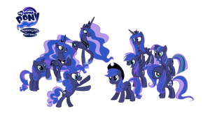 Princess Luna is the Best Pony by VickyBoniek