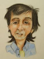 Caricature Paul McCartney by Hleix