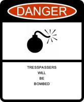 Warning sign01 by TheShadowHuntress