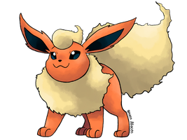 #136 Flareon by allocen