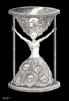 Our Lady of the Hourglass by offermoord