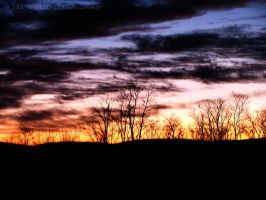 December Sunrise HDR by Contengent-Necessity