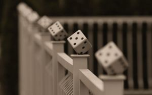 Fence of a Gambling Maniac by webcruiser