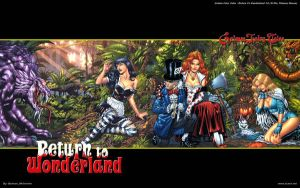 Return To Wonderland 6 - 2 by batwolverine