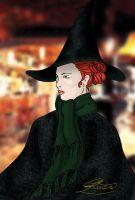 witch in the pub colour by DeliriousRose