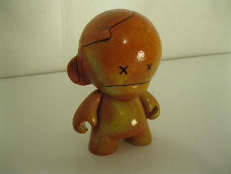 Rotten Apple Munny by SirFrijoles