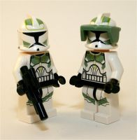 Clone Troopers by Xero-Dubber