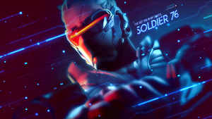 Soldier 76 Wallpaper - Overwatch by Gramcyyy
