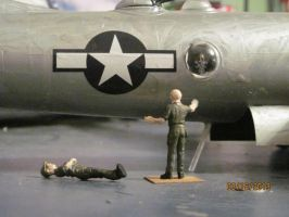 B-29 Superfortress: The Waist by cloudyrainbow561