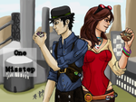 SXL Round Two - One Misstep Cover by evafortuna