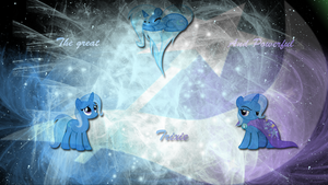 Trixie wallpaper First attempt by LeonBrony