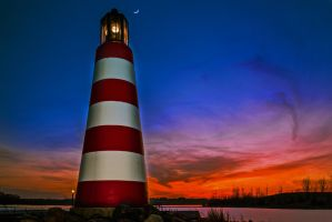 Cunningham Lighthouse by AquarianPhotography