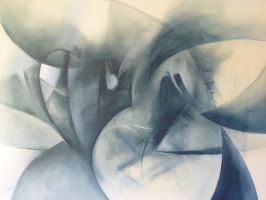 abstract gray by GagMariel
