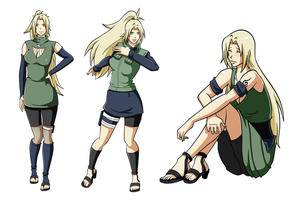 PCs-Lady--Tsunade by HardyDytonia
