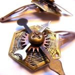 Adventure Clockwork Hairclips by SteamSociety