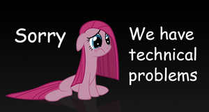 Technical Problems | Pinkie says sorry by Ackdari