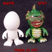 Munny Style Creature Compare by Undead-Art