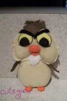 Sword in the Stone Owl plushie by CuteGio