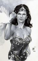 Lynda Carter/Wonder Woman - DSC by gph-artist