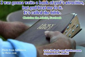 A Book of Gods Atrocities by AAtheist