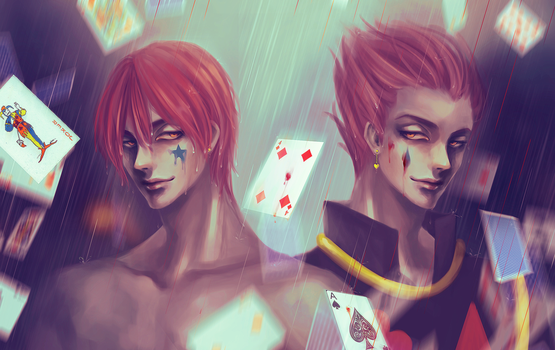 Hisoka Morow [HunterXHunter] by LeonLampard