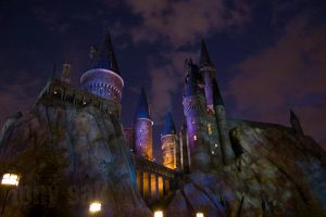 Another Nighttime at Hogwarts by tonysak