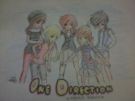 One Direction (Female Ver.) by MistyandAzuril